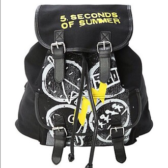 5 seconds of summer backpack