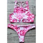 swimwear,pink,girly,summer,beach,cute,fashion,style,trendy,rose wholesale-ma