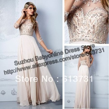 Aliexpress.com : Buy 2014 Elegant Weddings & Events Chiffon Royal ...