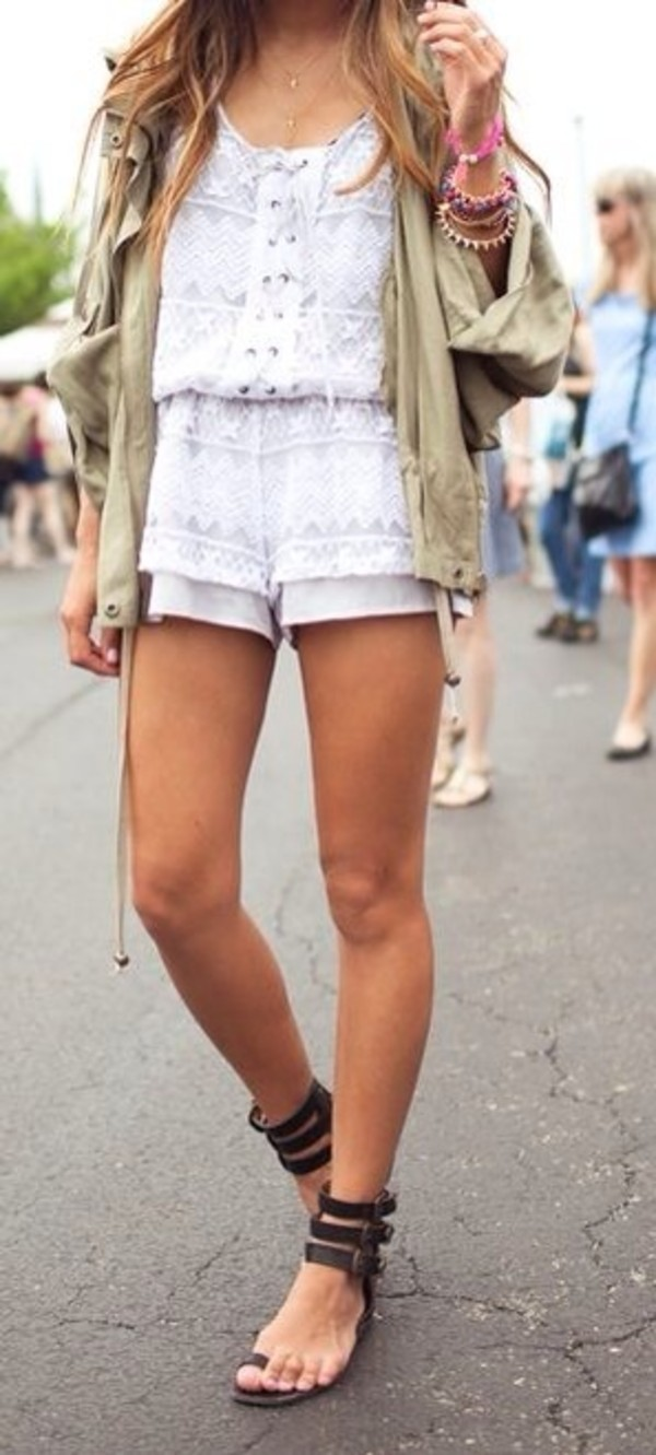 shorts romper dress jacket coat