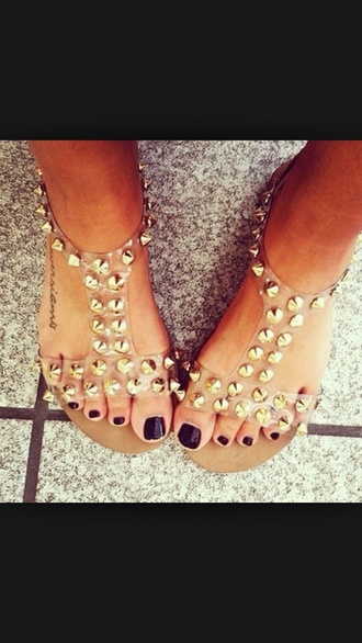 sandals shoes studded shoes studded sandals brown shoes nude sandals cute sandals edgy summer shoes