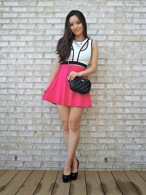 sensible stylista jewels top skirt shoes bag