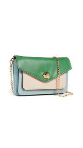clutch,blue,green,bag