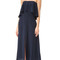Zimmermann silk strapless flounce dress - french navy
