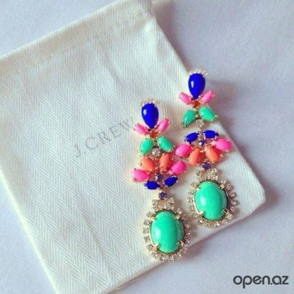 jewels colorful earrings earrings j. crew