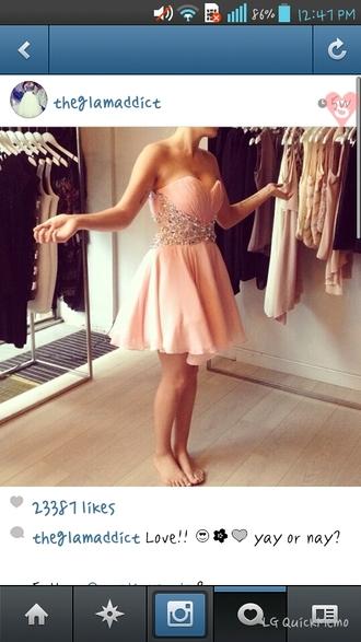 dress maxi dress peach dress