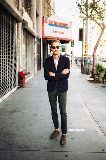 stay classic blogger jacket jewels sunglasses menswear hipster menswear