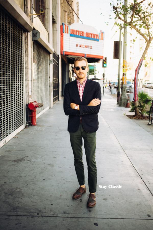 854ebd6b3664 stay classic blogger jacket jewels sunglasses menswear hipster menswear.