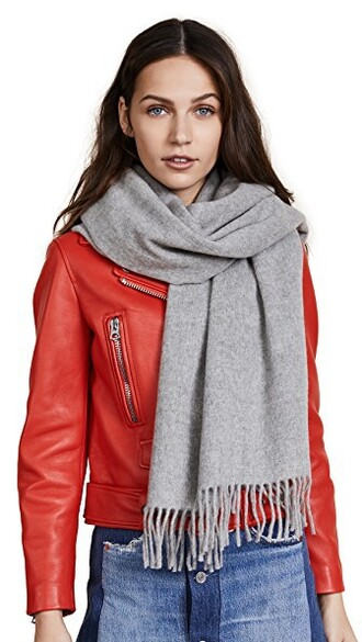 scarf light grey