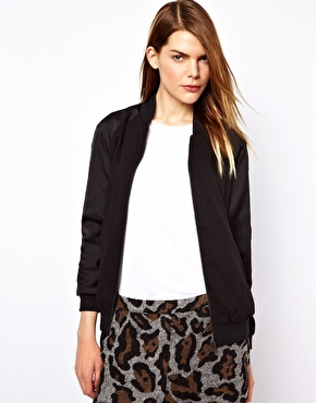 Just Female | Just Female Bomber Jacket at ASOS