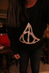 sweater,jumper,cute,black