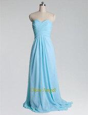 long prom dress,prom dress long,prom dress,sexy bridesmaid dress,light blue bridesmaid dress,criss-cross bridesmaid dress,dress