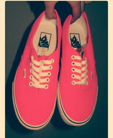 shoes pink shoes vans of the wall