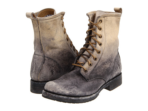 Frye Veronica Combat Stone Stone Wash - Zappos.com Free Shipping BOTH Ways