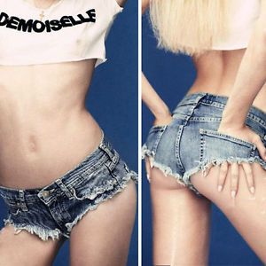 Cut Off Sexy Hot Pants Mini taille basse Femmes Jeans shorts courts | eBay