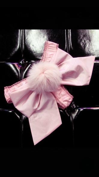 underwear bunny fluffy bunny tail bunny tail tail thong panties pi vs victoria's secret bow ribbon ddlg dd/lg sexy hot cute kawaii lingerie kink fluffy petplay