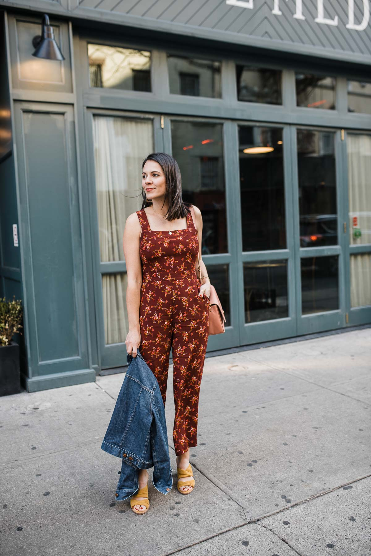 A Madewell Floral Jumpsuit To Wear In NYC | My Style Vita