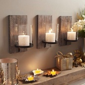 home accessory,wood,candle,holiday home decor