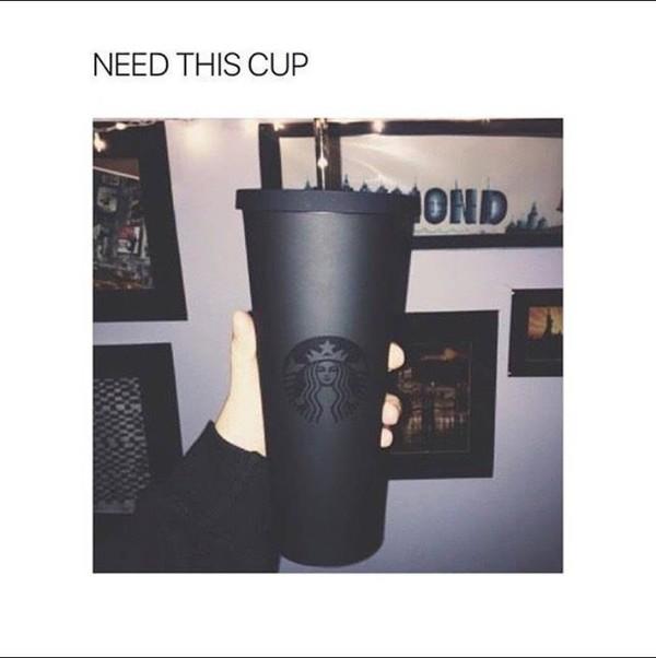 4a345bc3735 Amazon.com   Starbucks Acrylic Cold Cup - Matte Black, 24 Fl Oz ...