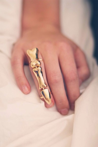 bones jewels ring gold