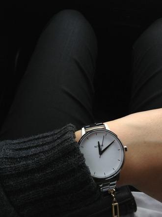 jewels style classy perf black watch