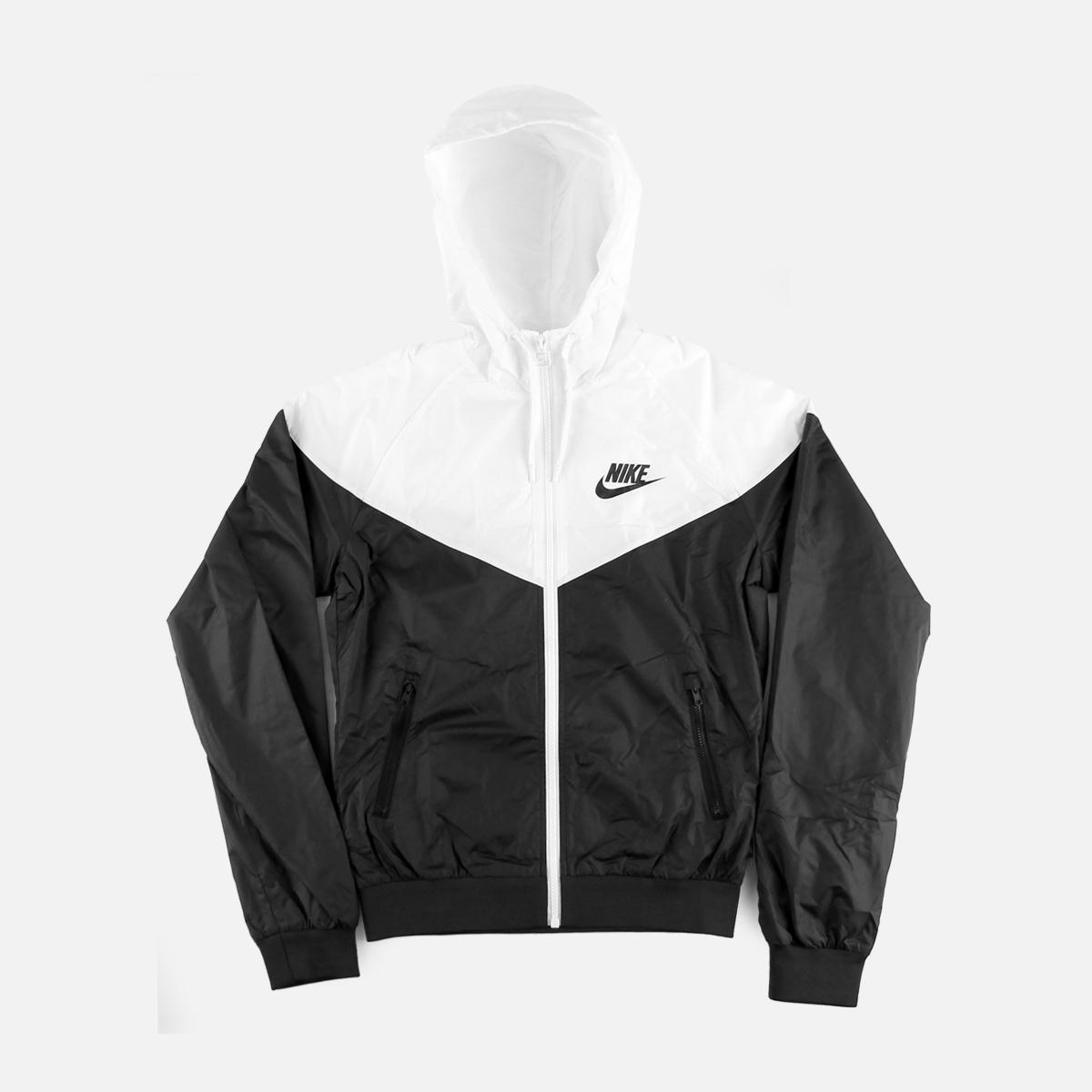 Nike White And Black Windbreaker April 2017