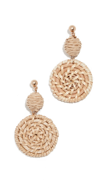 Shashi St. Barths Earrings in natural