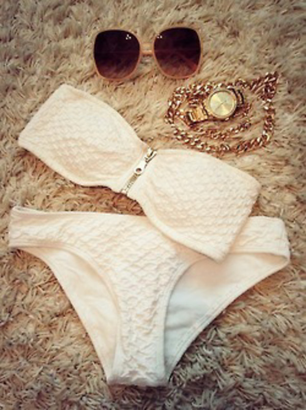 swimwear white bikini white bikini white swimwear summer outfits