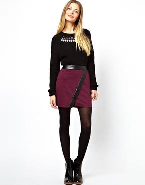 mini skirt wrap   ASOS