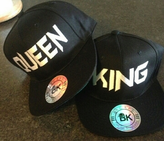 hat king queen hats couplehats cap king and queen matching couples