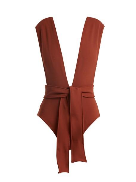 Haight light brown swimwear