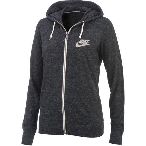 nike women 39 s gym vintage full zip hoodie academy. Black Bedroom Furniture Sets. Home Design Ideas