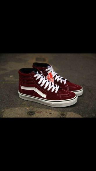 shoes vans classic style sk8-hi
