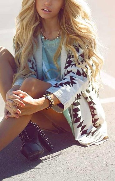 cross jewelry cardigan shoes knitted cardigan tribal cardigan oversized cardigan hand jewelry gold rings studded heels coat