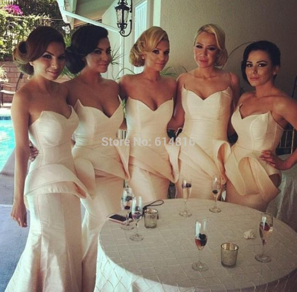 bridesmaid satin bridesmaid dress prom dress