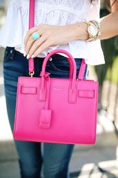 jewels,tumblr,cuff bracelet,bracelets,gold watch,watch,gemstone ring,ring,jewelry,bag,pink bag,ysl,ysl bag,designer bag,nail polish,nails