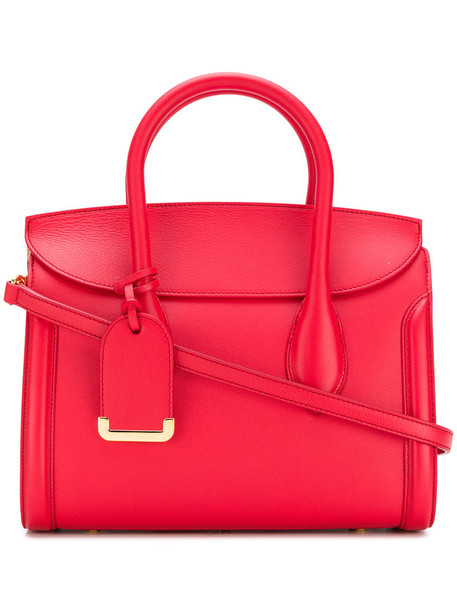 Alexander Mcqueen women bag tote bag leather red