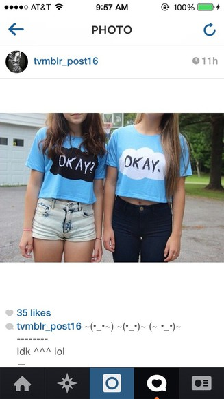 blue shirt the fault in our stars okay? okay.