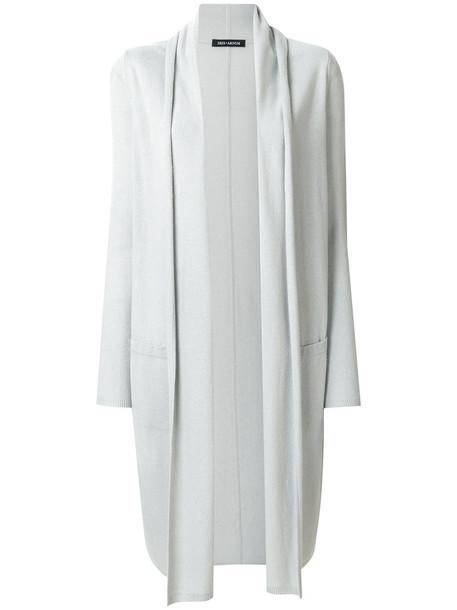 Iris von Arnim cardigan cardigan long open women grey sweater