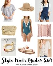 thebudgetbabe,blogger,top,hat,bag,swimwear,shoes,clutch,sandals,summer outfits,one piece swimsuit,overalls