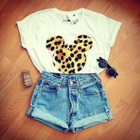 MICKEY MOUSE LEOPARD SHIRT! on The Hunt