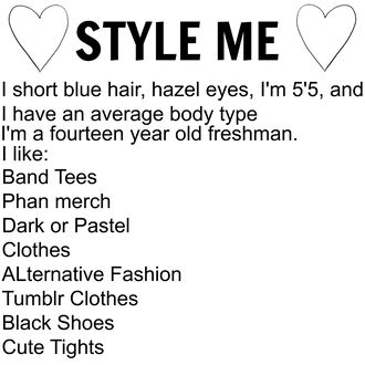 top style me alternative emo pastel tumblr blue hair band t-shirt dark glow in the dark clothes black shoes cute tights