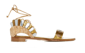 shoes,flat sandals,gold,gold shoes,gold sandals