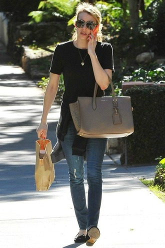 jeans emma roberts streetstyle