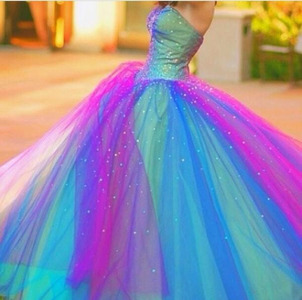 dress prom dress purple dress two tone