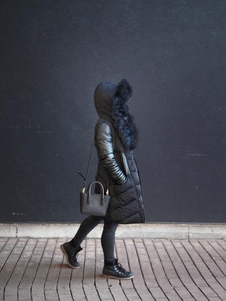 district dress up blogger coat jeans shoes bag