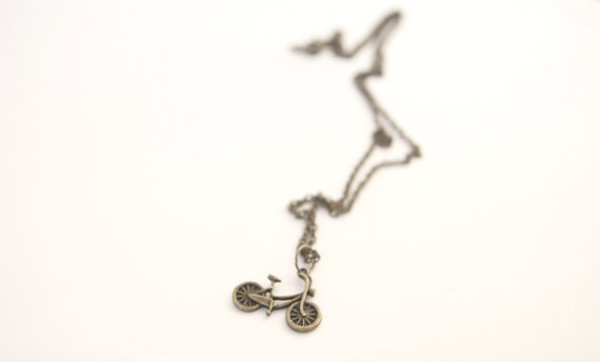 jewels mini pendant bike necklace jewelry