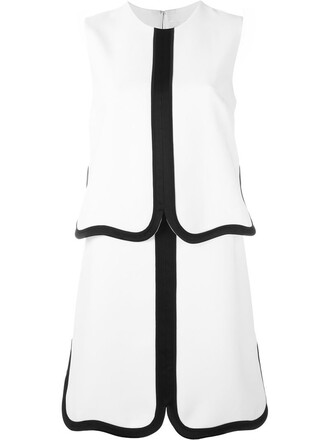 dress shift dress white