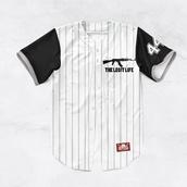t-shirt,chris brown,dope,baseball jersey,baseball tee