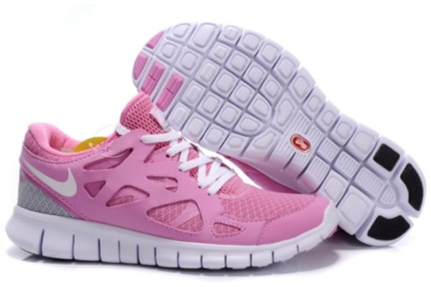 shoes ladies nike free run 2 athletic shoes pink white grey aberdeen     ladies nike free run 2 athletic s £48.50 save: 62% off nike shoes nike running shoes running shoes nike perfomance
